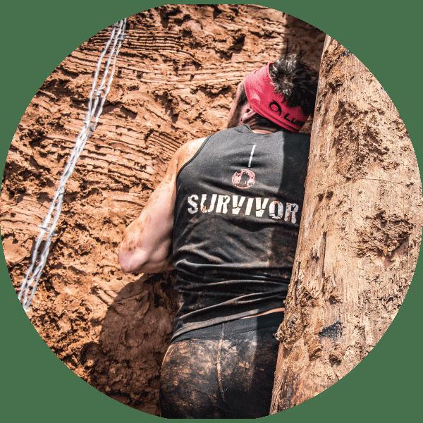 obstaculos survivor race crawl